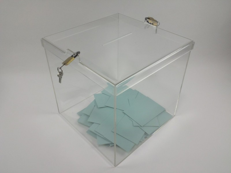 urnes de vote 150 électeurs