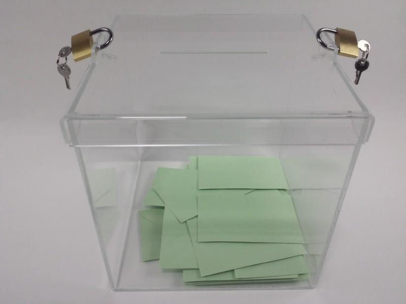 urnes de vote 300 électeurs