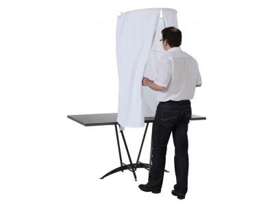 Isoloir pour élections